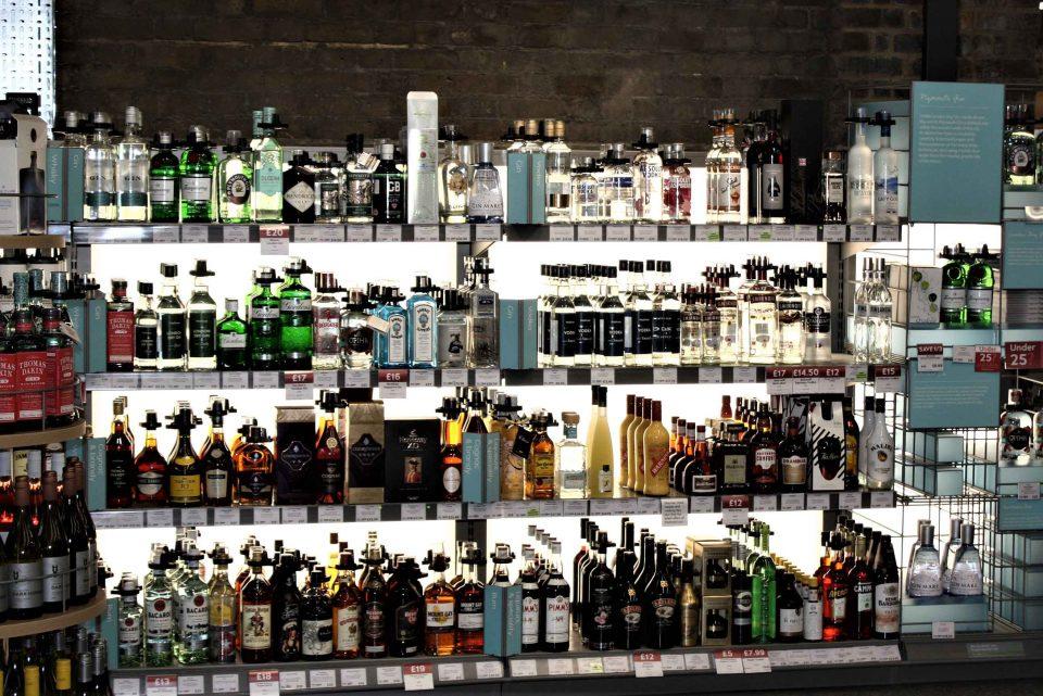 Backlit retail display